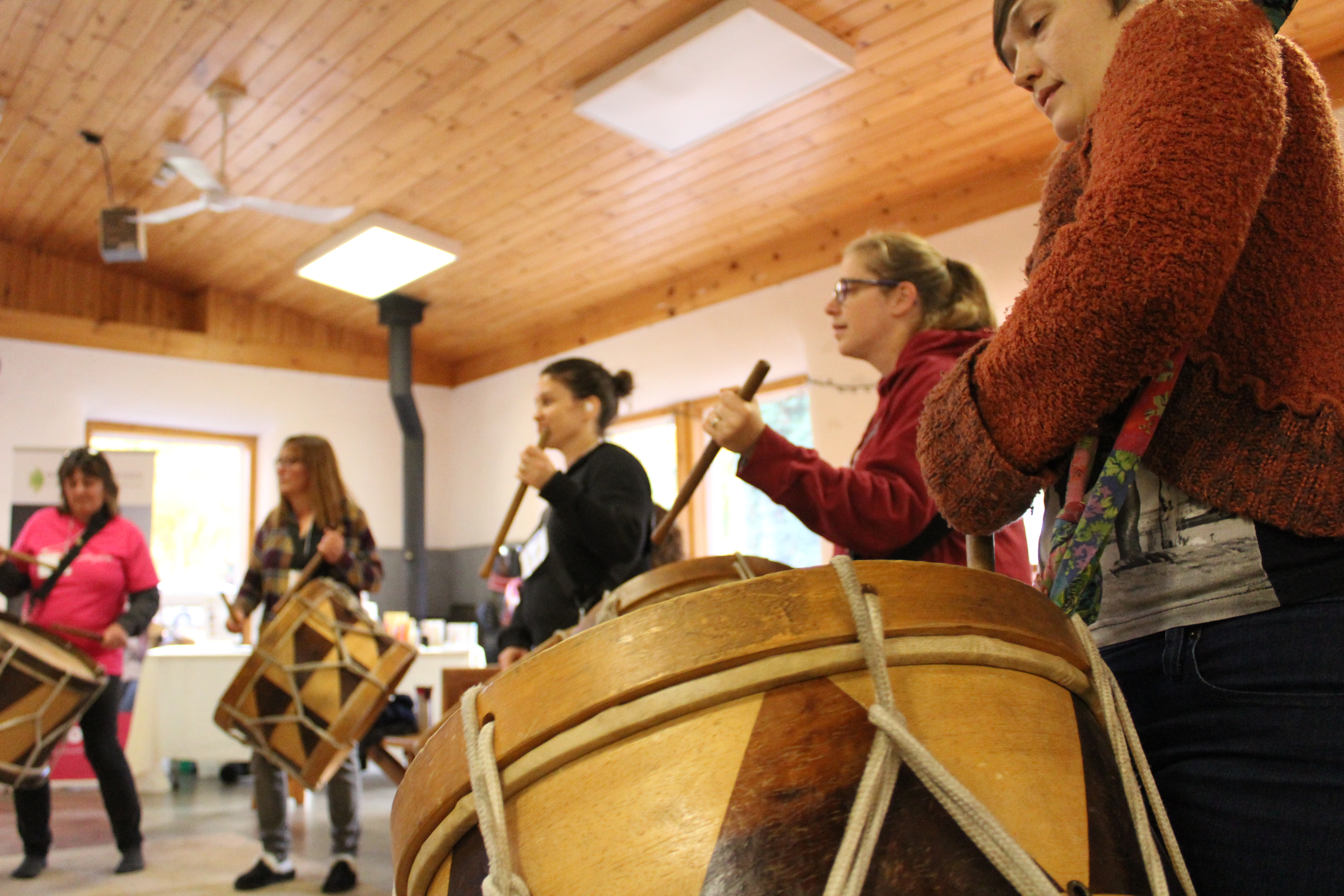 Drumming, community, Mother Earth: Three words that define Baque de Bamba